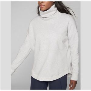 Athleta cozy karma sweatshirt